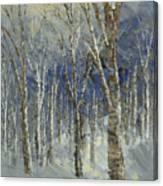 Icy Bells Canvas Print
