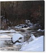 Icy Creek Canvas Print