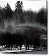 Icy Fog Canvas Print