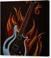 Icy Hot Axe Canvas Print