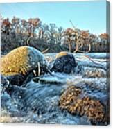 Icy Waters 2 Canvas Print