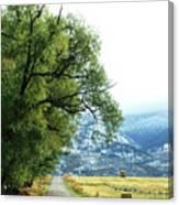 Idaho Road Trip Canvas Print
