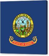 Idaho State Flag Canvas Print