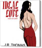 Ideal Love Book Cover Canvas Print