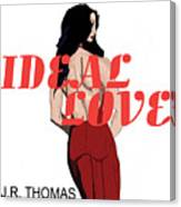 Ideal Love Cover Canvas Print
