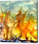 If Flames Could Speak Canvas Print