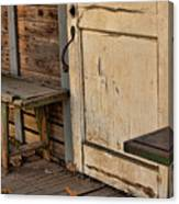 If This Porch Could Talk Canvas Print