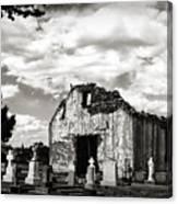 Iglesia Cementerio Canvas Print