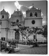 Iglesia Ciudad Vieja - Guatemala Bnw Canvas Print