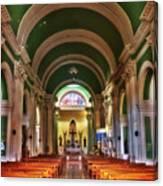 Iglesia De La Merced Canvas Print