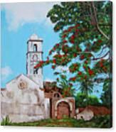 Iglesia De Santa Anna Canvas Print
