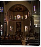 Iglesia Maria Auxiliadora - San Salvador Xix Canvas Print