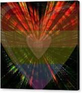 Ignite My Heart Canvas Print