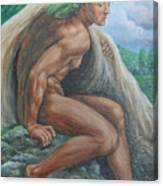 Ignudo In Bicol Canvas Print