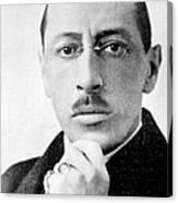 Igor Stravinsky, Russian Composer Canvas Print