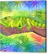 Iguana Canvas Print