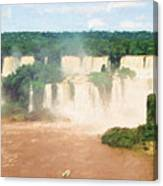 Iguazu Falls 2 Canvas Print
