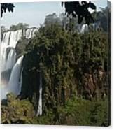 Iguazu Falls Panoramic View Canvas Print