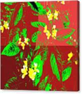 Ikebana Canvas Print
