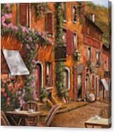 Il Bar Sulla Discesa Canvas Print