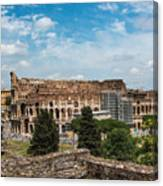 il Colosseo Canvas Print
