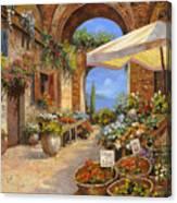 Il Mercato Del Lago Canvas Print