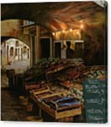 Il Mercato Francese Canvas Print