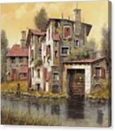 Il Mulino Giallo Canvas Print
