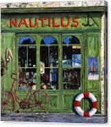 Il Nautilus Canvas Print