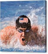 Il Nuotatore Canvas Print