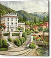 Il Palazzo Sul Lago Canvas Print