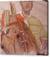 Il Palio On Silk Two Canvas Print