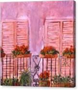Il Terrazzo In Roma, II Canvas Print