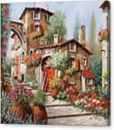Il Villaggio Canvas Print