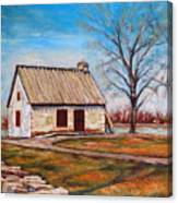 Ile Perrot House Canvas Print