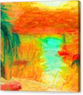 Ilhabela Canvas Print