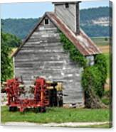 Ilini Barn Canvas Print