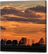 Illinois Sunset Strip IIi Canvas Print