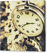Illusive Time Canvas Print