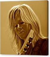 Ilse Delange Of The Common Linnets Canvas Print