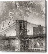 Im Selling The Brooklyn Bridge Or At Least A Photo Of It  Canvas Print