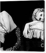 Im Too Tired, Nude Model, 1928 Canvas Print