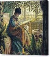 Image 348 Claude Oscar Monet Canvas Print