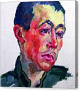 Image Of A Soldier Canvas Print