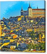 Image Of Portugal From The Road Canvas Print