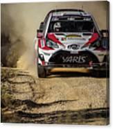 imagejunky_KB - RallyRACC WRC Spain - Esapekka Lappi / Janne Ferm Canvas Print