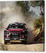 imagejunky_KB - RallyRACC WRC Spain - Lefebvre / Patterson Canvas Print