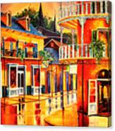 Images Of The French Quarter Canvas Print