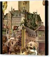 Imaginary Postcard  3 Canvas Print