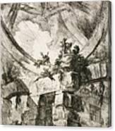 Imaginary Prison Canvas Print